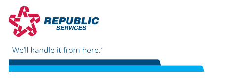 Republic Services - We'll take it from here.